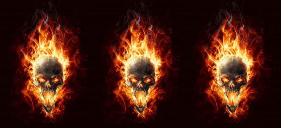 Skull 1 Repeat