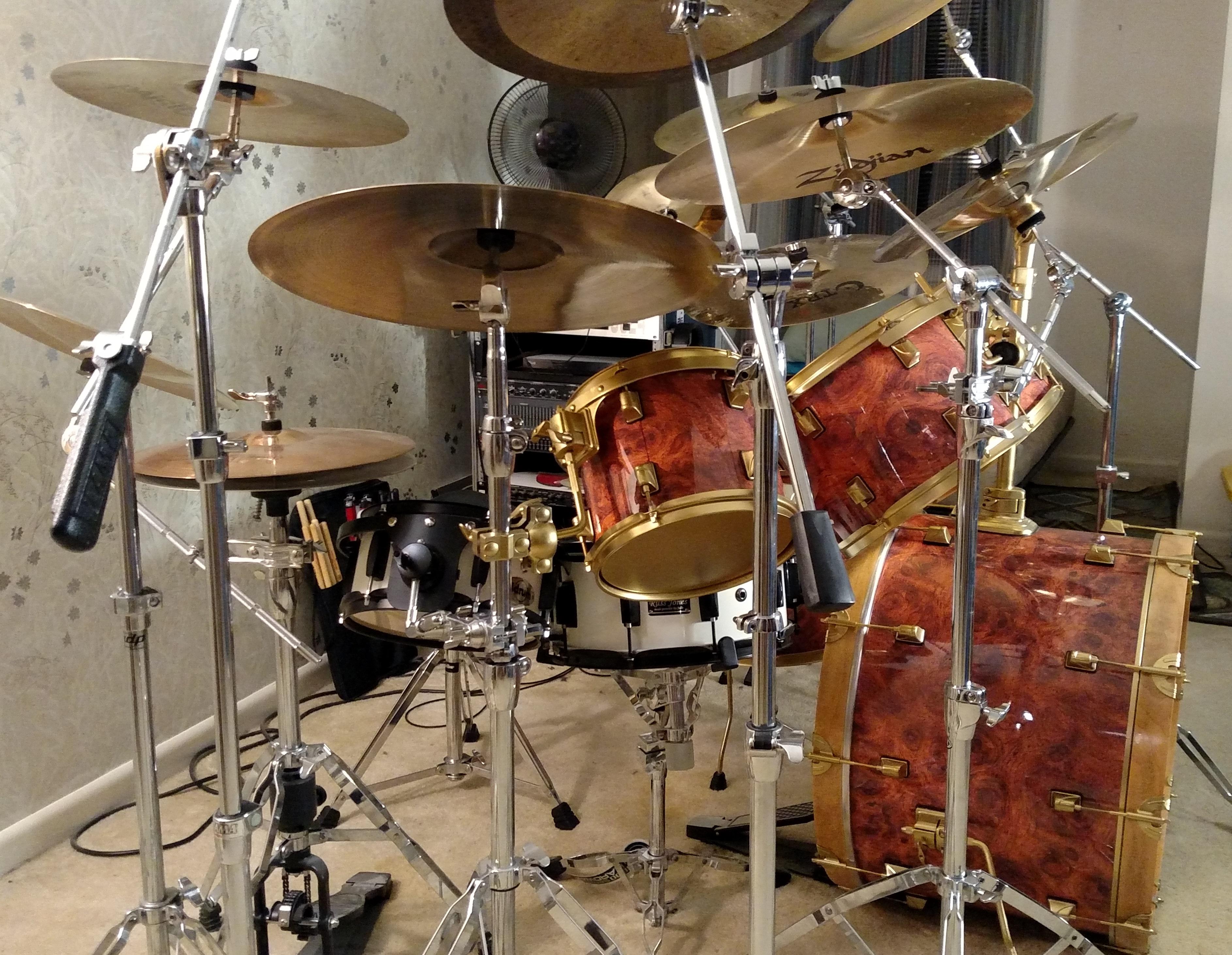 Ormosia Wood Drum Wrap