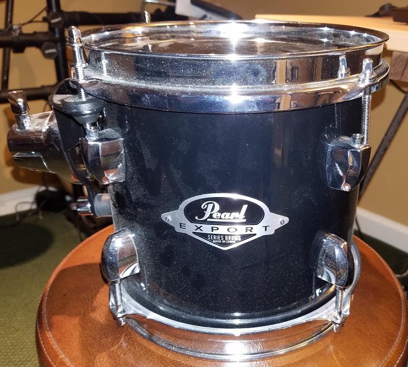 Pearl Black 8 inch before
