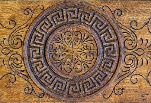 mosaic designed drum wraps