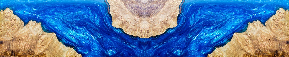 Casting epoxy resin stabilizing burl wood abstract art background